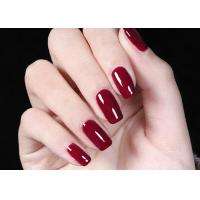 Buy cheap Long Lasting Pure Color LED Gel Nail Polish With UV & LED Lamp No Odor from wholesalers