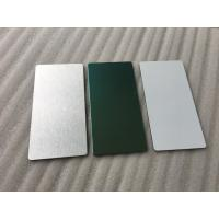 Glossy Silver Aluminum Sandwich Panel Decorative Exterior Wall Panels