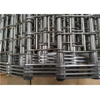 China Industrial Heavy Duty Conveyor Chain Belt Stainless Steel 304 Corrosion Resistant wholesale