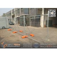 China Temporary Fence Panels with Plastic Foot Block | H 2100mmXW2400mm | AS4687-2007  Standard | China Factory wholesale
