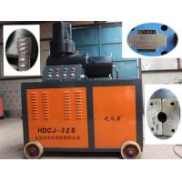 Building High Speed Rebar Upsetting Machine , Steel Rebar Upset Forging Machine