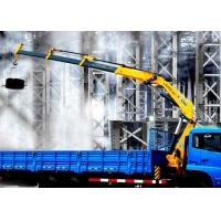 China  Durable XCMG Folding Boom Truck Mounted Crane 10T For City Construction  for sale