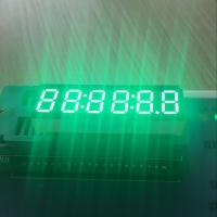 """China Long lifetime Pure Green 0.36"""" 6-Digit LED Clock Display common anode for Instrument Panel wholesale"""