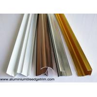 China Anodized Aluminium Tile Edge Trim / Cladding Trim For Integrated Wallboard wholesale