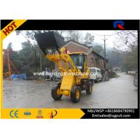 China 28km/h High Speed Micro Wheel Loader 30kN Max Breakout Force wholesale