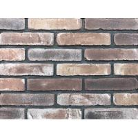 China Antique Thin Brick Veneer Through Molded / Sintered With Different Colors Mixed wholesale