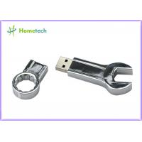China Mini Spanner Wrench Creative Metal Thumb Drives 32GB 16GB 8GB 4GB High Speed on sale