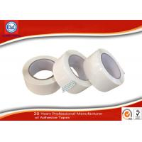 China Low Noise shipping BOPP Packaging Tape / White colored packing tape wholesale
