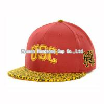 China Wholesale or Custom Leopard Printed Snapback Baseball Cap SC-022 wholesale