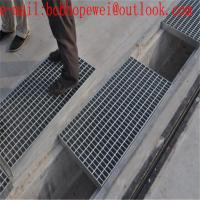 China Galvanized Steel Grating , Light Weight Metal Grate Sheet For Stair Tread/grating to building materials factory price wholesale