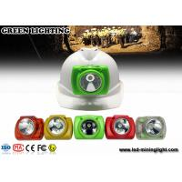 China 1W IP68 Miners Cap Lamp LED Mining Light with 22 hours working time wholesale