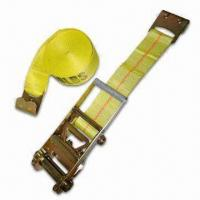China Automotive Security Parts and Accessories, Ratchet Strap with 3 Inches Wide Webbing wholesale