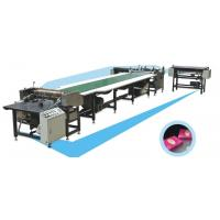 China Automatic Cross Double Sided Lapping Machine For Polyester Fiber Fabric on sale