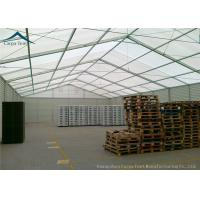 China 25m X 40m PVC Wall Covering Warehouse Tents With Auto Roller Up Door wholesale