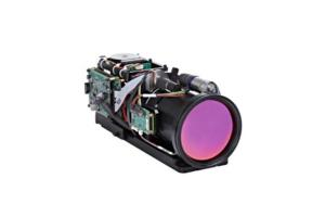 China 40-200mm F4 Continuous Zoom MWIR LEO Detector Thermal Imaging Camera System wholesale