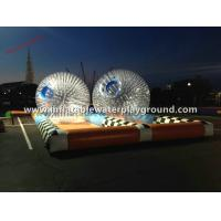 China 0.7mm TPU Inflatable Zorb Ball , Body Zorbing Ball Rental For Kids Fun Sports on sale