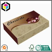 China Luxury Custom Color Made Chocolate Paper Box; Food Grade Chocolate Packaging Box on sale