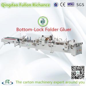 China Automatic Pre-Fold Lock-Bottom Carton Folder Gluer Machine (Sticking) wholesale
