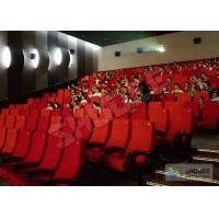 China Futuristic Vibration Sound 4D Cinema System With Electric Motion SV Chair wholesale