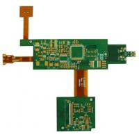 China 4-layer Rigid and Flex PCB with 0.6mm Thickness and FR4 Base Material on sale