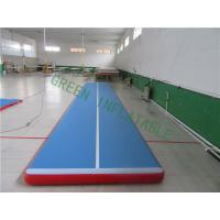 China Sturdy Compact Pool Tumble Track , Outdoor Tumbling Mats With Electric Pump wholesale
