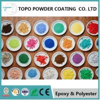 China RAL 1003 Pearl Powder Coating Good Chemical / Corrosion Resistance wholesale