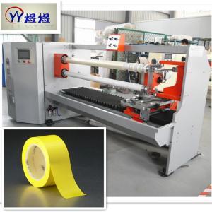 China 1300mm Adhesive PVC Electrical Insulation Tape Cutting Machine wholesale