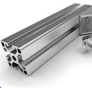 China 6063 - T5 Aluminium Profile System Electrophoretic Coated for Bending Cutting wholesale