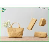 China 100% Recycle Custom Kraft Liner Paper For Zip Lock Pouch Wallet / Small Bag wholesale