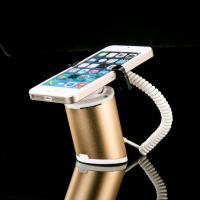 China COMER alarm smartphone display stands holder with charger for mobile phone chain retail stores wholesale