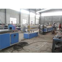 China Wood Plastic Composite Machinery / WPC PVC Wood Profile Extrusion Line wholesale