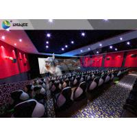 China Futuristic Cinema 5D Cinema Equipment Trealistic Effects , Entertainment wholesale
