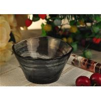 China wedding table decorations colored glass tealight candle holder bowl wholesale