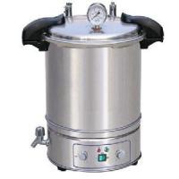 China Vacuum Vertical Steam Autoclave Sterilizer , 18L Stainless Steel wholesale