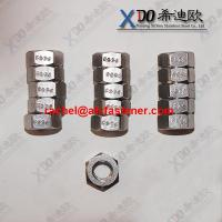 China stainless steel nut 254SMO 1.4547 din934 wholesale