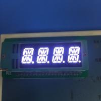 China 4 Digit 16 Segment Led Display 0.39 Inch Common Cathode For Temperature Humidity Indicator wholesale