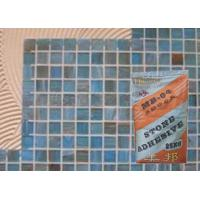 China White Sandstone Heat Resistant Mosaic Tile Adhesive For Bathroom / Building wholesale