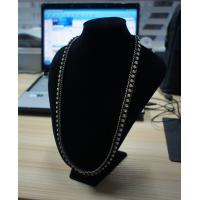 China Handmade stylish and clear mixed metal necklace at factory price wholesale