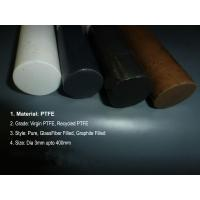 China Bronze Fiber PTFE Teflon Rod Glass Carbon Graphite / Beads Filled wholesale