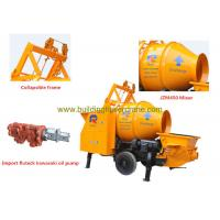China Concrete Mobile Mixer Outlet Pressure 7Mpa Wireless Remote Control wholesale