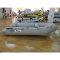 China Durable PVC Inflatable Boat Fishing Raft 3 Person Kaya With Floor Damage Resistance wholesale