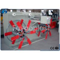 China Double Disc Tube Coiling Machine / Automatic Winding Machine For Plastic Pipe Profile wholesale