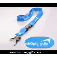 China heat transfer printing polyester lanyard manufacture wholesale with metal hook wholesale
