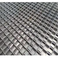 China Honeycomb Wire Stainless Steel Wire Belt Conveyor For Food Industry Strong Tension wholesale