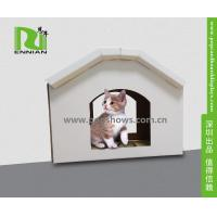 Wholesale Cuddly Stable Cardboard Cat House Indoor Textured Surface Grinding Claws from china suppliers