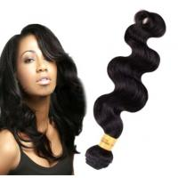 Wholesale Long Lasting100 Indian Human Hair Weave For Black Women Body Wave from china suppliers