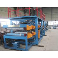 China 1250mm Width EPS Sandwich Panel Roll Forming Machine 28Kw for Warehouse​ wholesale