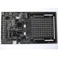 Black Solder Mask Double Sided PCB for Control System White Silkscreen HASL UL