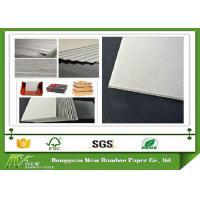 China Gray Paperboard High density recycled Grey Chipboard For package box wholesale