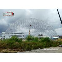 China 50m Diameter Geodesic Dome Tents With Doors & Ventilation For Exhibition wholesale